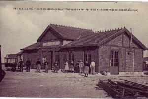 La gare de Sablanceaux