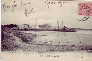 Le port de Loix