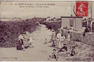 Le four à chaux de Montamer, Sainte-Marie
