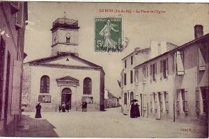 L'église du Bois-Plage