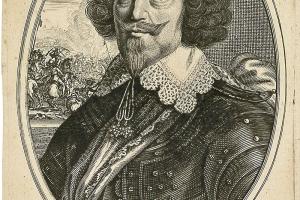 Messire Jean de St Bonnet, seigneur de Toyras, mareschal de France par Balthazar Montcornet, gravure sur papier, XVIIe siècle