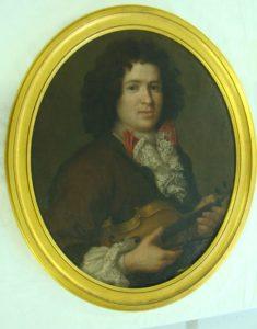 Jeune homme au violon © Musée Ernest Cognacq Ville de Saint-Martin-de-Ré