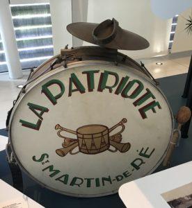Grosse caisse de la Patriote © Musée Ernest Cognacq Ville de Saint-Martin-de-Ré