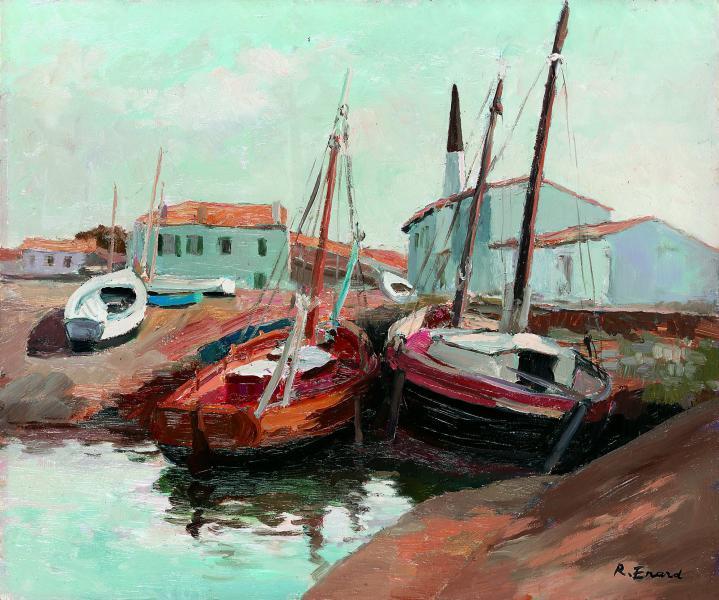 Le port d'Ars de Raymond Enard