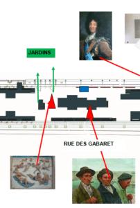 Extrait du Plan de Sauvegarde des Œuvres © Musée Ernest Cognacq