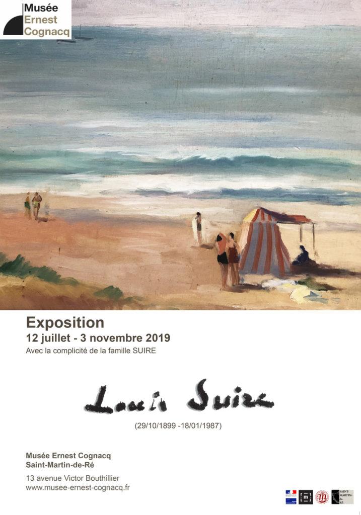 Affiche exposition Louis Suire