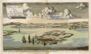 Bombardement de l'île d'Aix en 1757