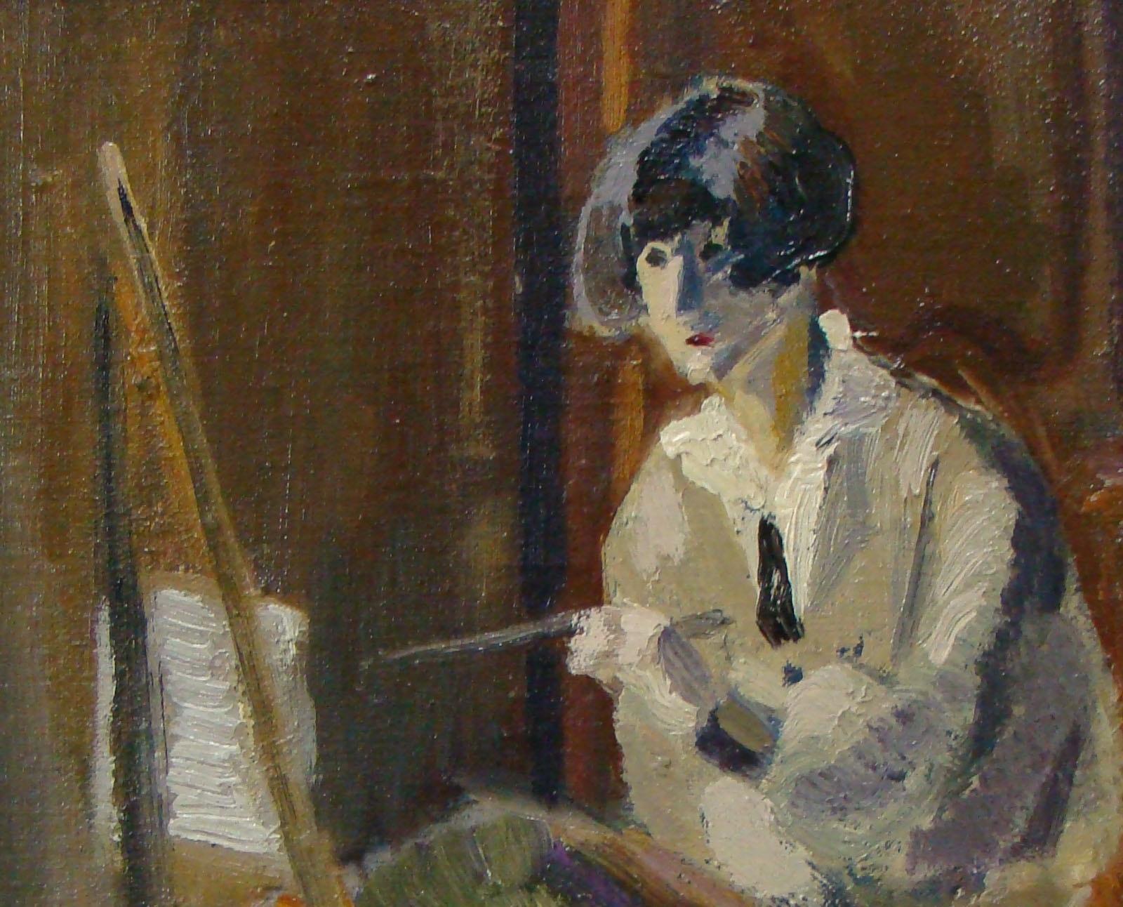 Autoportrait de Cahout