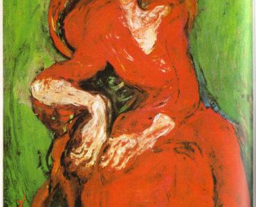 Soutine femme rouge 1922