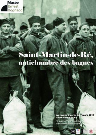 Musée Ernest Cognacq expo St Martin de Ré, antichambre des bagnes