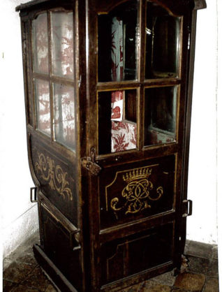 Musée Ernest Cognacq Chaise à porteur