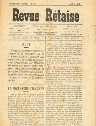 Musée Ernest Cognacq - Revue Rétaise n°6