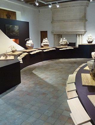 Musée Ernest Cognacq - salle marine