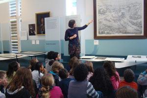 Musée Ernest Cognacq - visite groupe scolaire