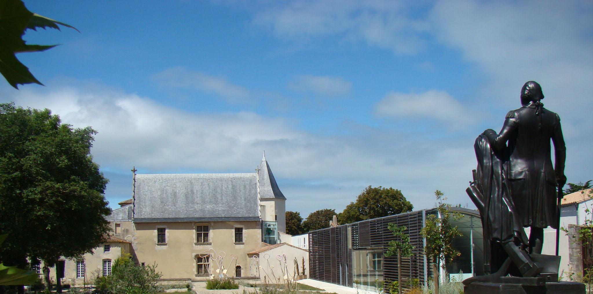 Musée Ernest Cognacq, vue du jardin
